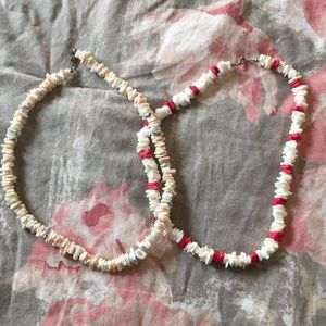 Jewelry - Shell necklaces and headbands